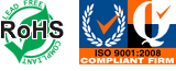 RoHS Lead Free & ISO 9001:2008 Compliant Firm