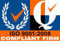 ISO 9001:2008 Compliant Firm